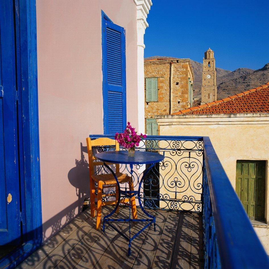 Балкон в греческом стиле фото. - дизайны балконов - каталог .